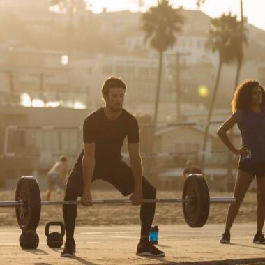 Muskelaufbau ohne schwere Gewichte
