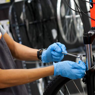 Die richtige Reinigung und Pflege des Fahrrads
