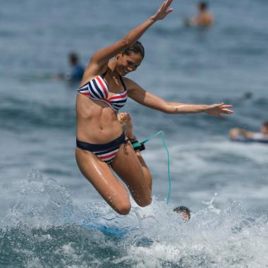 Wie falle ich beim Surfen ohne mir weh zu tun?