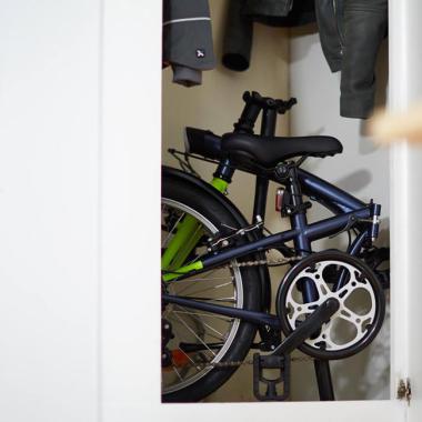 Wie bewahre ich mein Fahrrad auf?