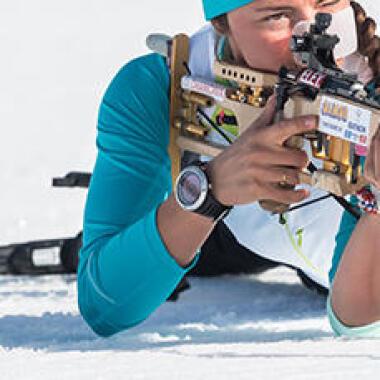 Der Einstieg ins Biathlon