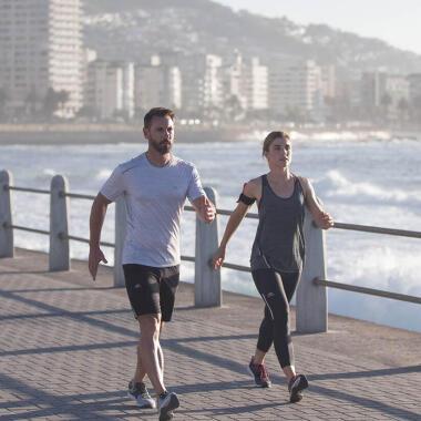 Mit dem Walking beginnen: 6 km/h erreichen