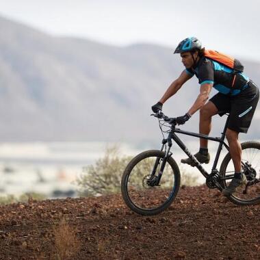 Entdecke das Mountainbiken