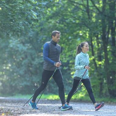 Wie benutze ich meine Nordic Walking-Stöcke richtig?