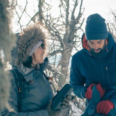 Warm und trocken beim Wandern: die Drei-Schichten-Technik