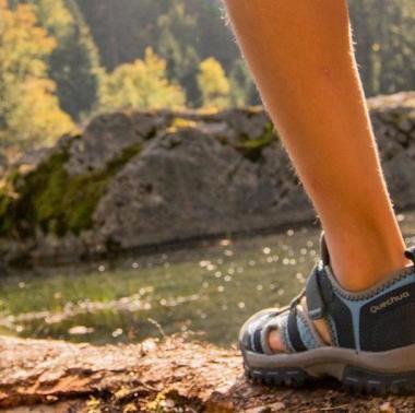 So findest du passende Sandalen oder belüftete Schuhe