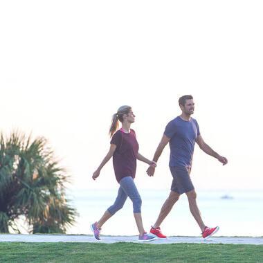 Die richtige Armtechnik beim Walking