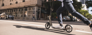 avoiding pain when scootering