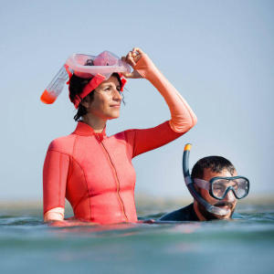 sun protection while snorkeling