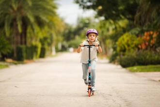 How to choose a kids' scooter