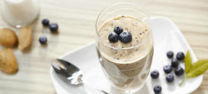 blueberry protein cream