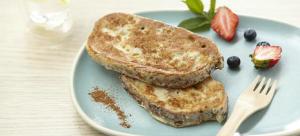 protein bread pudding