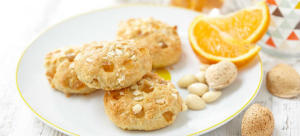 orange protein biscuits