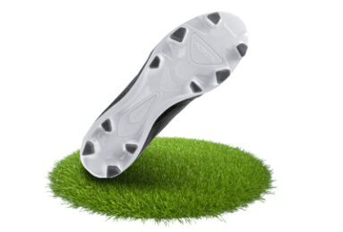 Football boots for dry surfaces