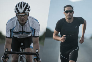 Cycling and running sunglasses