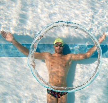 Breathing technique for backstroke