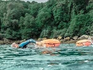 Att andas rätt i simning i öppet vatten