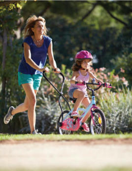 Bike riding lessons for kids