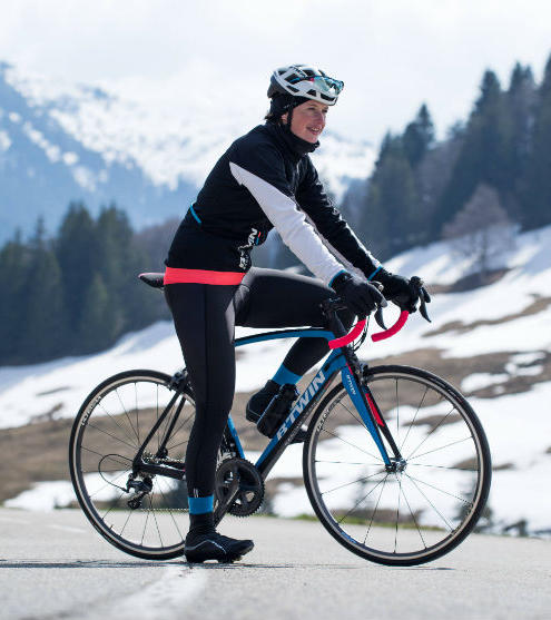 Cycling to fight depression