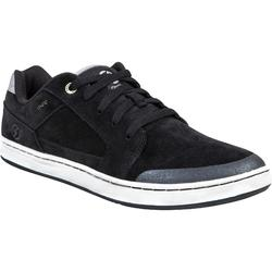 Zapatillas caña baja de skateboard adulto CRUSH LOW V2 Negro