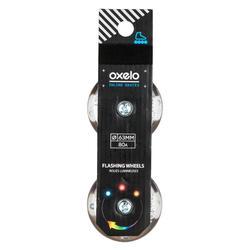 Wielen met lagers voor kinderskeelers Flash 63 mm 80A set van 2