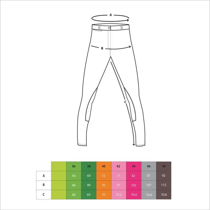 Pantalon imperméable chaud et respirant équitation femme KIPWARM - 145264