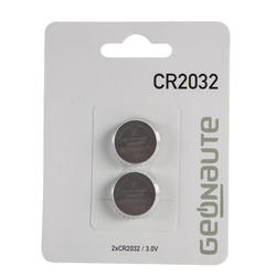 Lote de 2 pilas CR2032