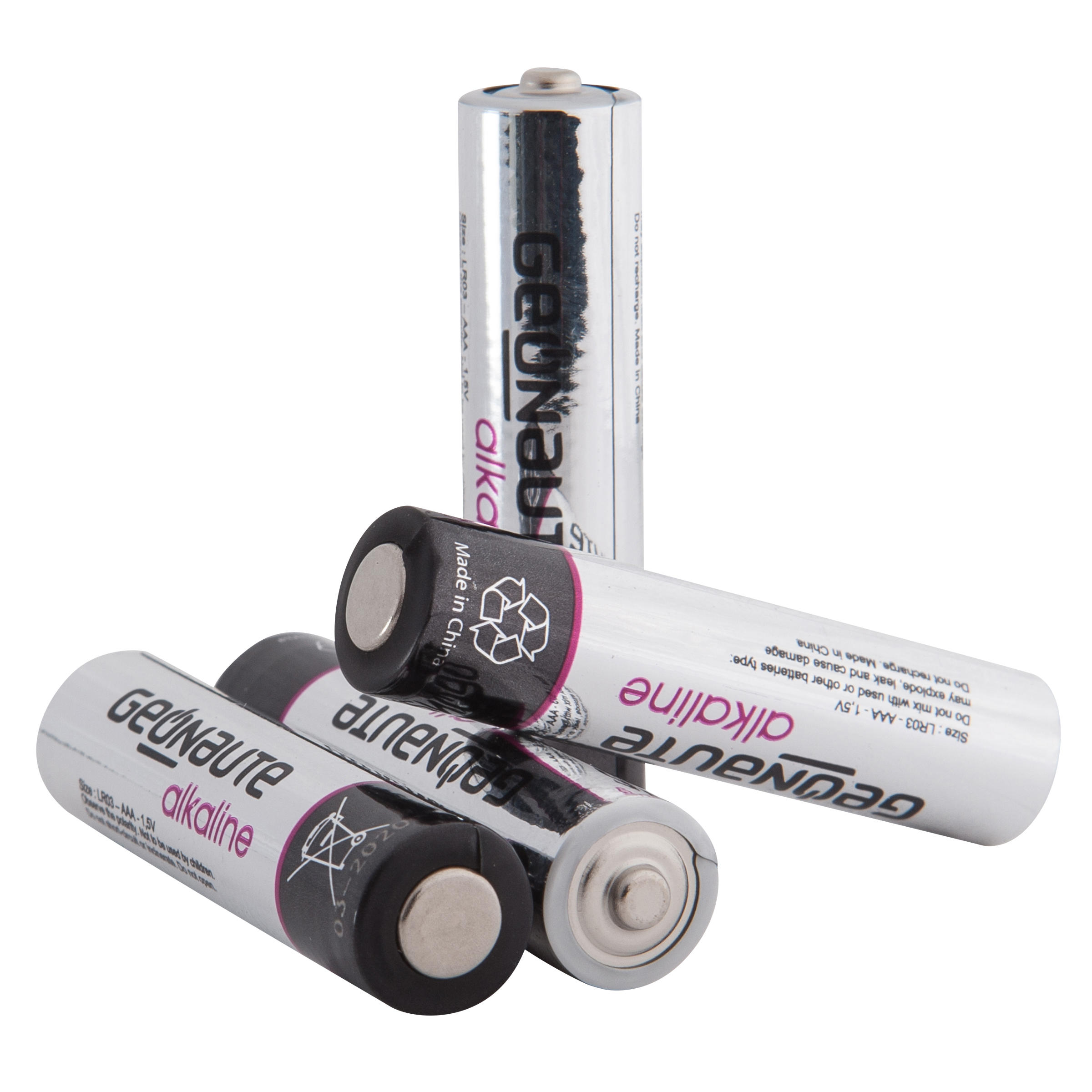 Pack of 4 LR03-AAA 1.5V batteries