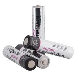 Pakje 4 batterijen LR03-AAA 1,5V