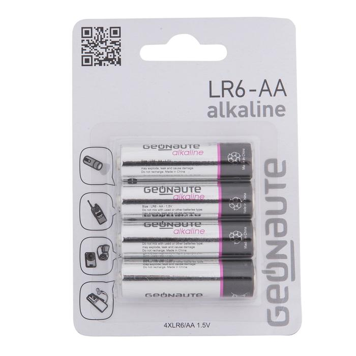Lote 4 Pilas LR06 - AA Geonaute