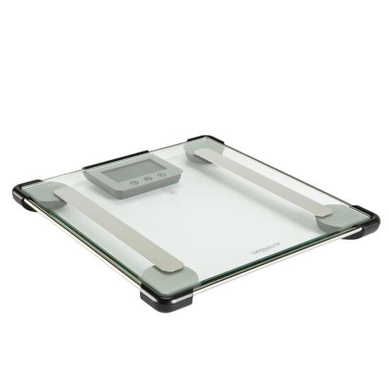 Glazen personenweegschaal met lichaamsvetmeter Scale 300 - 145456