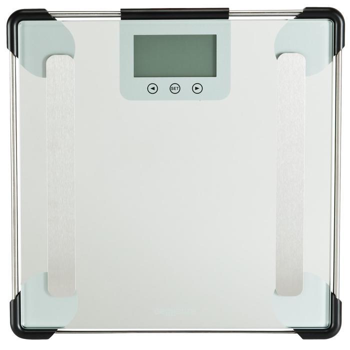 Pèse personne impédancemètre SCALE 300 verre - 145460