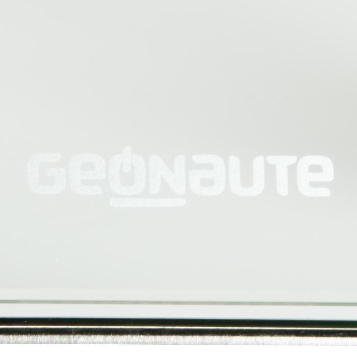Glazen personenweegschaal met lichaamsvetmeter Scale 300
