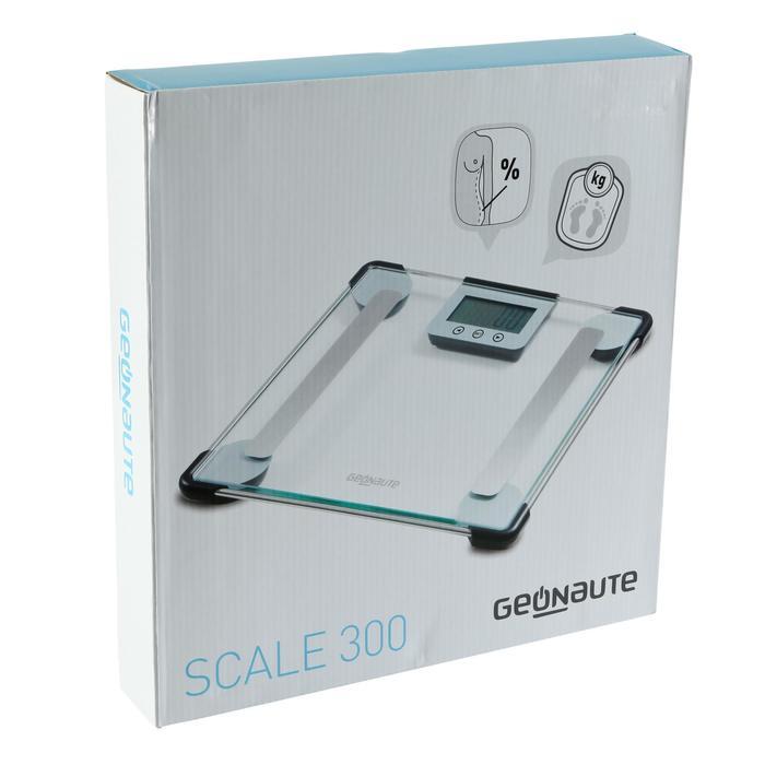 Pèse personne impédancemètre SCALE 300 verre - 145472