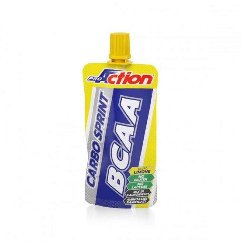 BARRETTE, GEL E RECUPERO Alimentazione - Gel CarboSprint BCAA Limone 50ml PROACTION - Alimentazione
