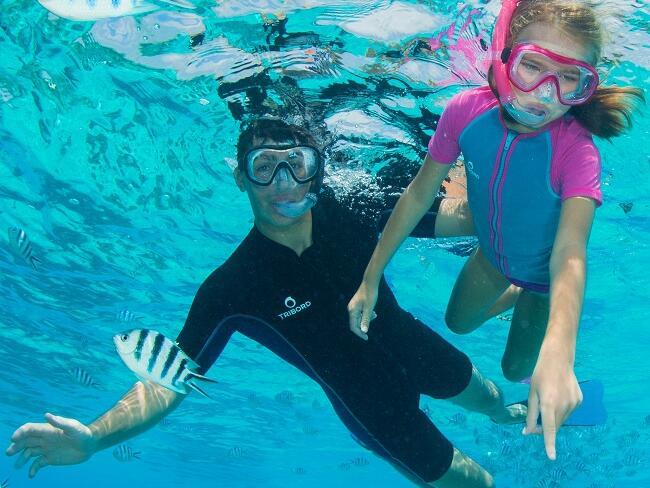 Comportamento corretto durante lo snorkeling: rispettiamo il mare! | DECATHLON