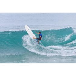 Combinaison Surf shorty 900 Néoprène 2mm Zip Poitrine Homme bleu