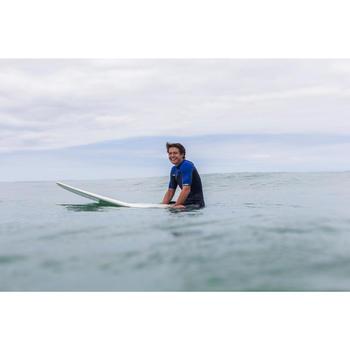 Combinaison Surf shorty 900 Néoprène 2mm Zip Poitrine Homme bleu - 145649