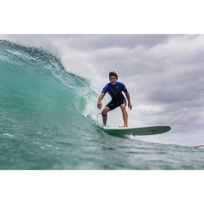 Combinaison Surf shorty 900 Néoprène 2mm Zip Poitrine Homme bleu - 145651