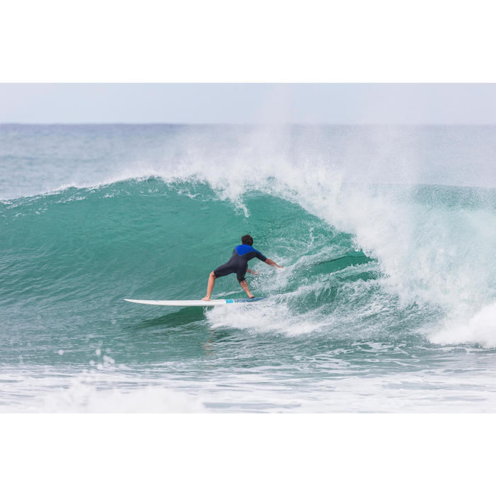 Combinaison Surf shorty 900 Néoprène 2mm Zip Poitrine Homme bleu - 145658