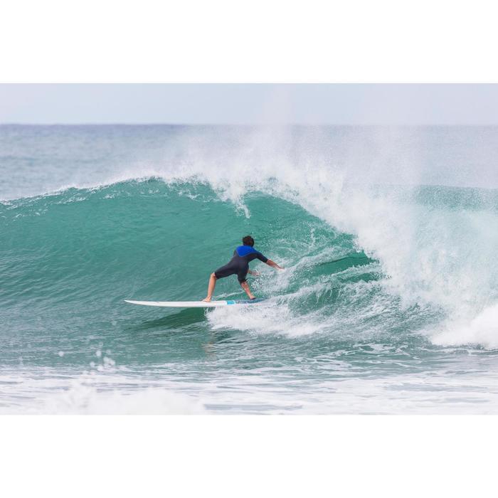 Neoprenanzug Shorty Surfen 900 Neopren 2mm Brust-RV Herren blau