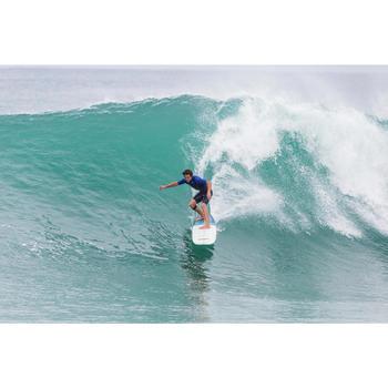 Combinaison Surf shorty 900 Néoprène 2mm Zip Poitrine Homme bleu - 145661
