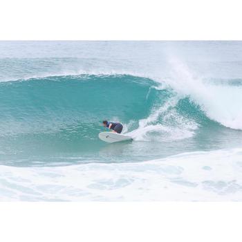 Combinaison Surf shorty 900 Néoprène 2mm Zip Poitrine Homme bleu - 145665