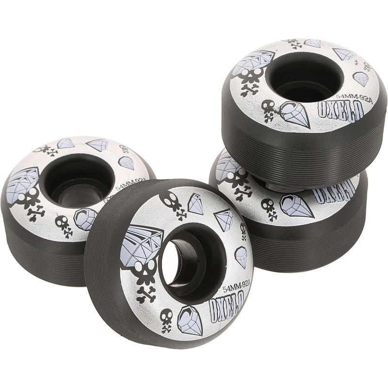 4 x 54mm 92a Skateboard Wheels