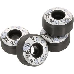 4 skateboardwielen 54 mm 92A