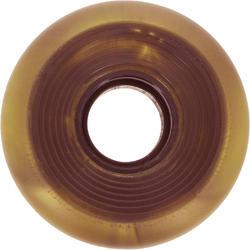 4 wielen voor Oxelo rolschaatsen voor volwassenen, 62 mm/82A brons - 145690