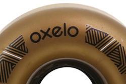 4 wielen voor Oxelo rolschaatsen voor volwassenen, 62 mm/82A brons - 145692