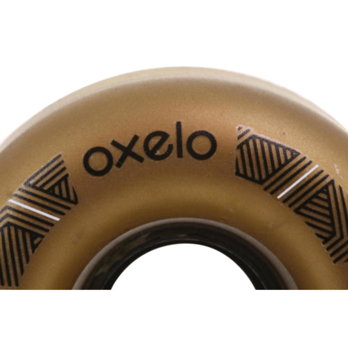 4 roues Roller Quad adulte OXELO 62mm / 82A  bronzes