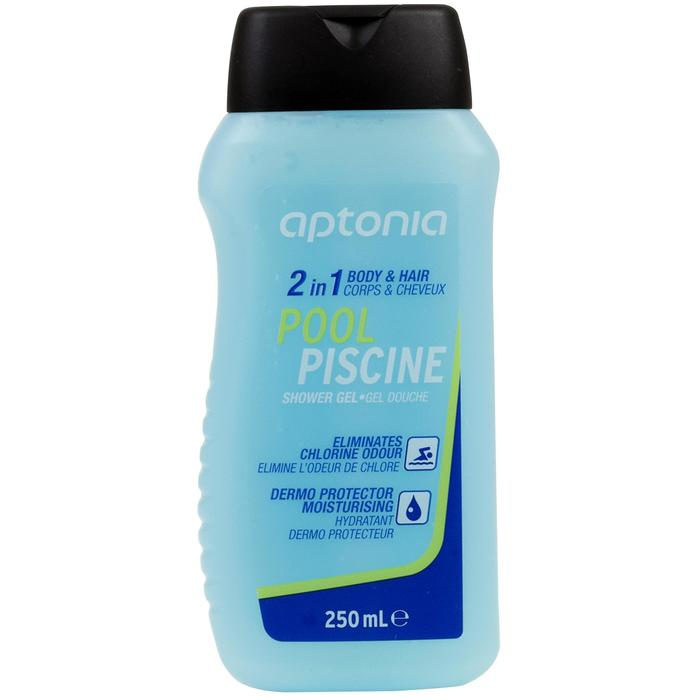 2-in-1 douchegel + shampoo zwembad 250 ml