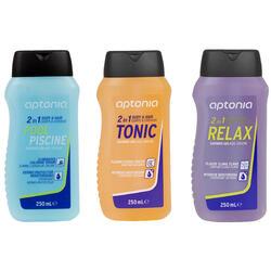 Douchegel + shampoo 2-in-1 zwembad 250 ml - 145703